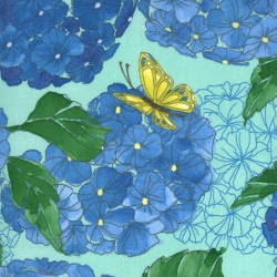 Moda Fabrics Cottage Bleu by Robin Pickens 48690-13