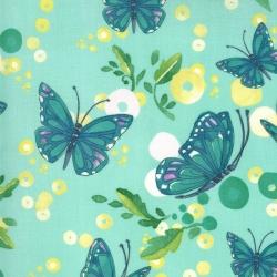 Moda Fabrics Cottage Bleu by Robin Pickens 48692-13