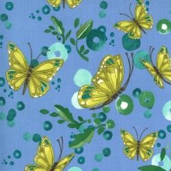 Moda Fabrics Cottage Bleu by Robin Pickens 48692-17