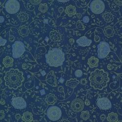 Moda Fabrics Cottage Bleu by Robin Pickens 48692-18