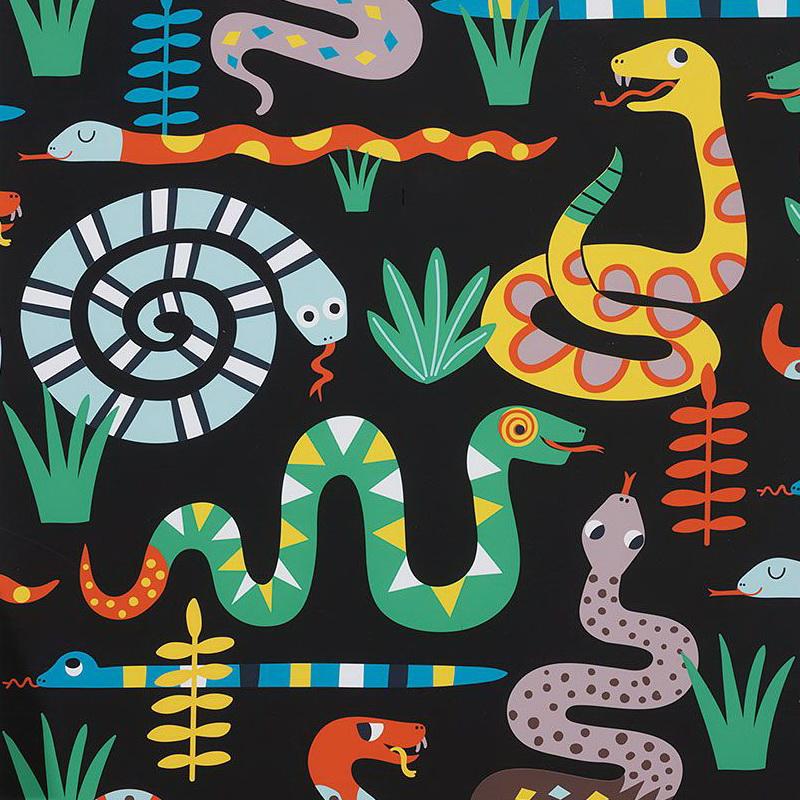 Alexander Henry Snake Rattle & Roll 8865 A