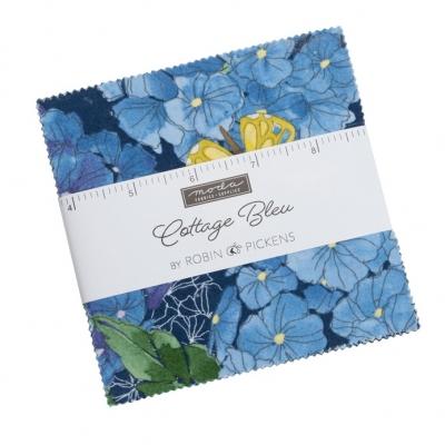 Moda Cottage Bleu Charm Pack 48690PP