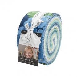 Moda Cottage Bleu Jelly Roll 48690JR
