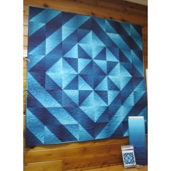 Ombre Star Quilt Kit from Creations