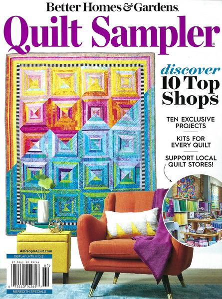 Quilt Sampler Magazine Spring Summer 2021