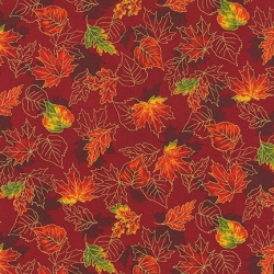 Robert Kaufman Autumn Bouquet 19859 163 Spice