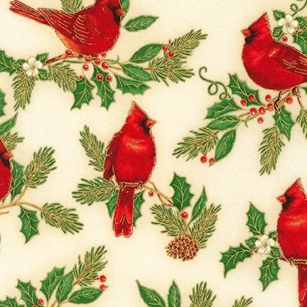 Robert Kaufman Winter's Grandeur 9 20079 223 Holiday