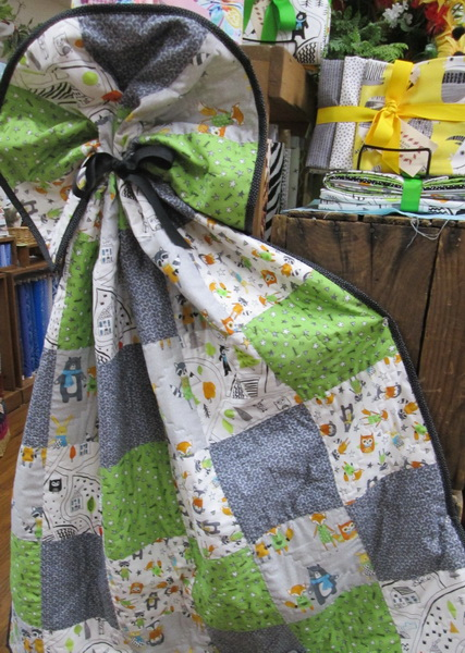 Creations quilt kit six easy pieces Neighborhood Pals