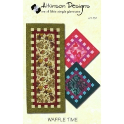 Atkinson Designs Waffle Time Runner