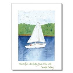 Words & Watercolors Card Birthday B1026