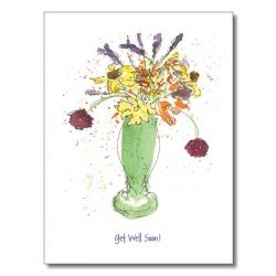 Words & Watercolors Card Comfort C4049