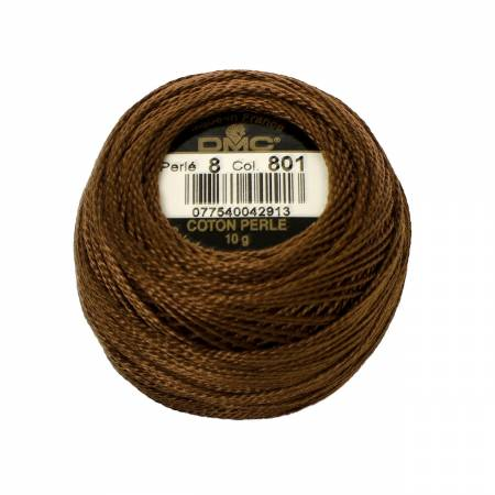 DMC Perle Cotton Size 8 116-8-0801