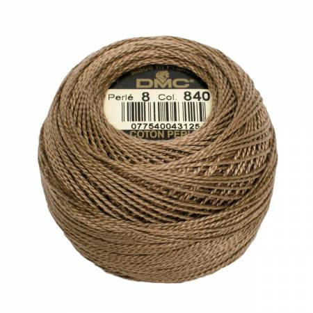 DMC Perle Cotton Size 8 116-8-0840