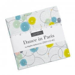 "Moda Dance in Paris by Zen Chic 5"" charm squares 1740PPM"