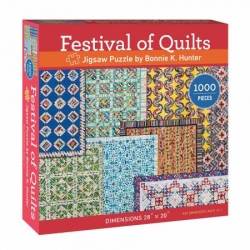 Puzzle Festival of Quilts by Bonnie Hunter 1000 Pieces