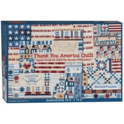 Puzzle Thank you America 1000 Pieces