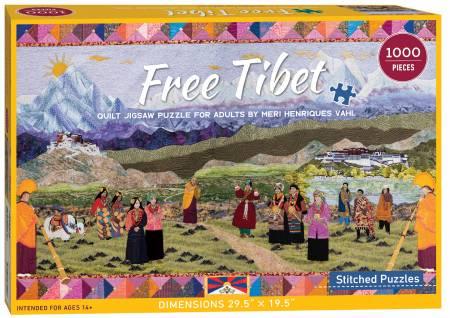 Puzzle Free Tibet 1000 Pieces