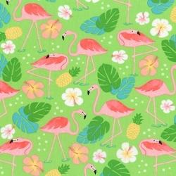 Robert Kaufman Flamingo Paradise 17995 50