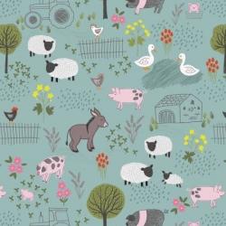 Lewis & Irene Farmyard Scene A531 3