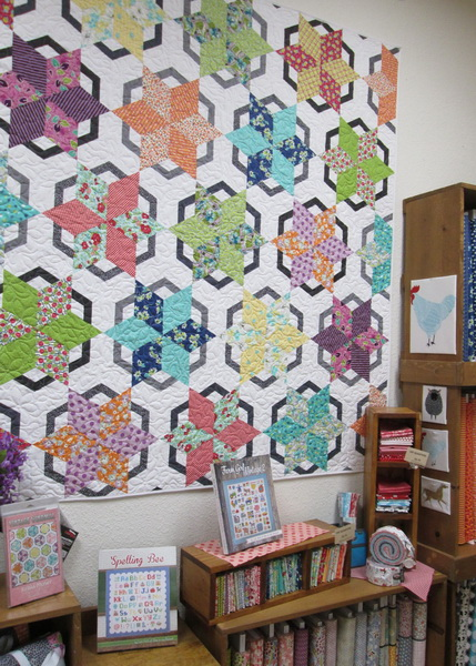 Vintage Windmill Quilt Kit from Creations