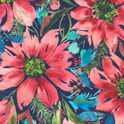 Moda Fabrics Starflower Christmas by Create Joy Project 8480 14