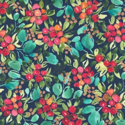Moda Fabrics Starflower Christmas by Create Joy Project 8481 13