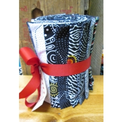 Aboriginal Fat Quarter Pack from Creations Black and White
