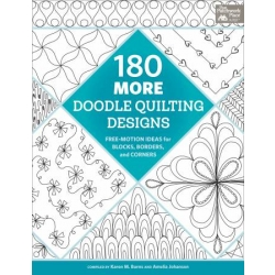 180 more doodle designs for machine quilting