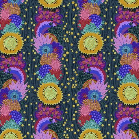 Free Spirit Fabrics Anna Marie Horner Bright Eyes PWAH152 Pine