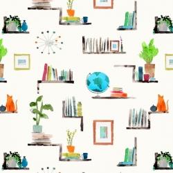 Windham Fabrics Read from Maria Carluccio 52637D-2