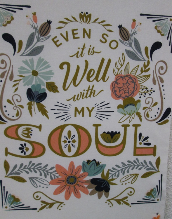 Songbook Fabric Design from Panel