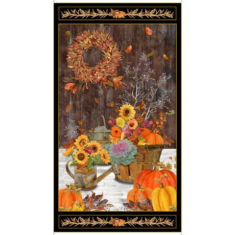 QT Fabrics Fall Panel 28399 A