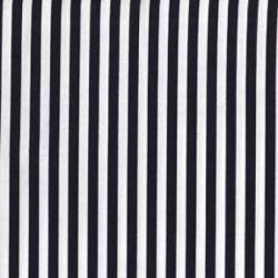 Michael Miller Fabrics Clown Stripe CX3584 White