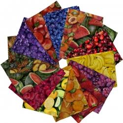 Quilting TreasuresFresh Fruit Fat Quarter Bundle