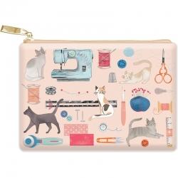 Moda Glam Bag Sewing Cats