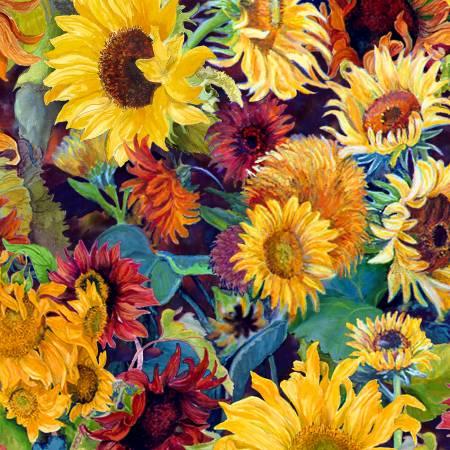 Wilmington Fabrics Flowers in the Sun 79276 753