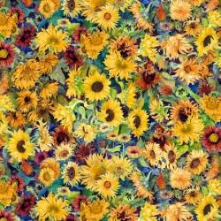 Wilmington Fabrics Flowers in the Sun 79278 573