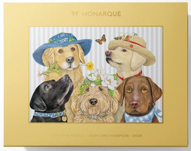 Monarque puzzle from Mary Lake Doggies