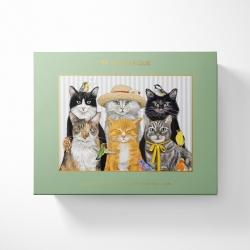 Monarque Giftable Puzzle Cats