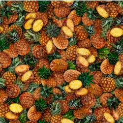 Quilting Treasures Fresh Pineapples 28462 AS