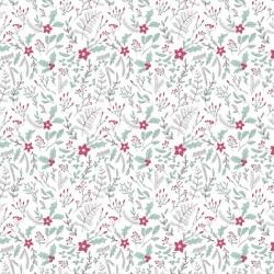 Free Spirit Fabrics Snowy Day Flannel FNSP005 White