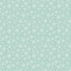 Free Spirit Fabrics Snowy Day Flannel FNSP006 Aqua