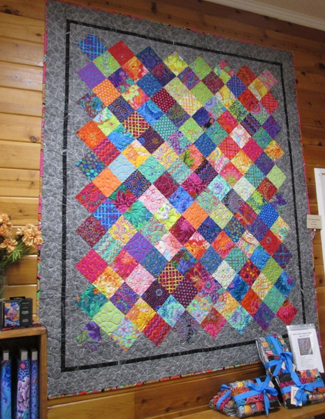 Kaffe Charm Square Quilt Kit from Creations