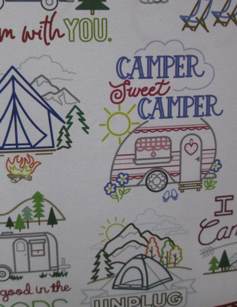 Stitcher's Revolution Camping Closeup