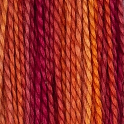 House of Embroidery Varigated Perle Cotton Thread Size 8