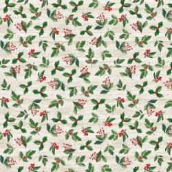 Timeless Treasures Christmas Print C8659 Natural