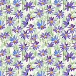 Clothworks Flower Shop Y3301 27 Purple