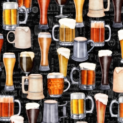 Quilting Treasers On Tap Beer Fabric 28420 J