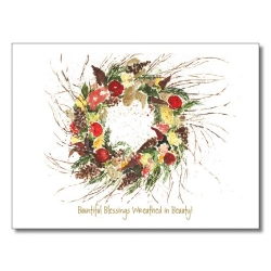 Peg Conley Thanksgiving Card H8006