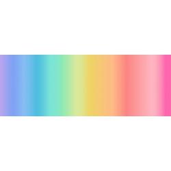Lewis & Irene Digital Rainbow Stripe 444-2